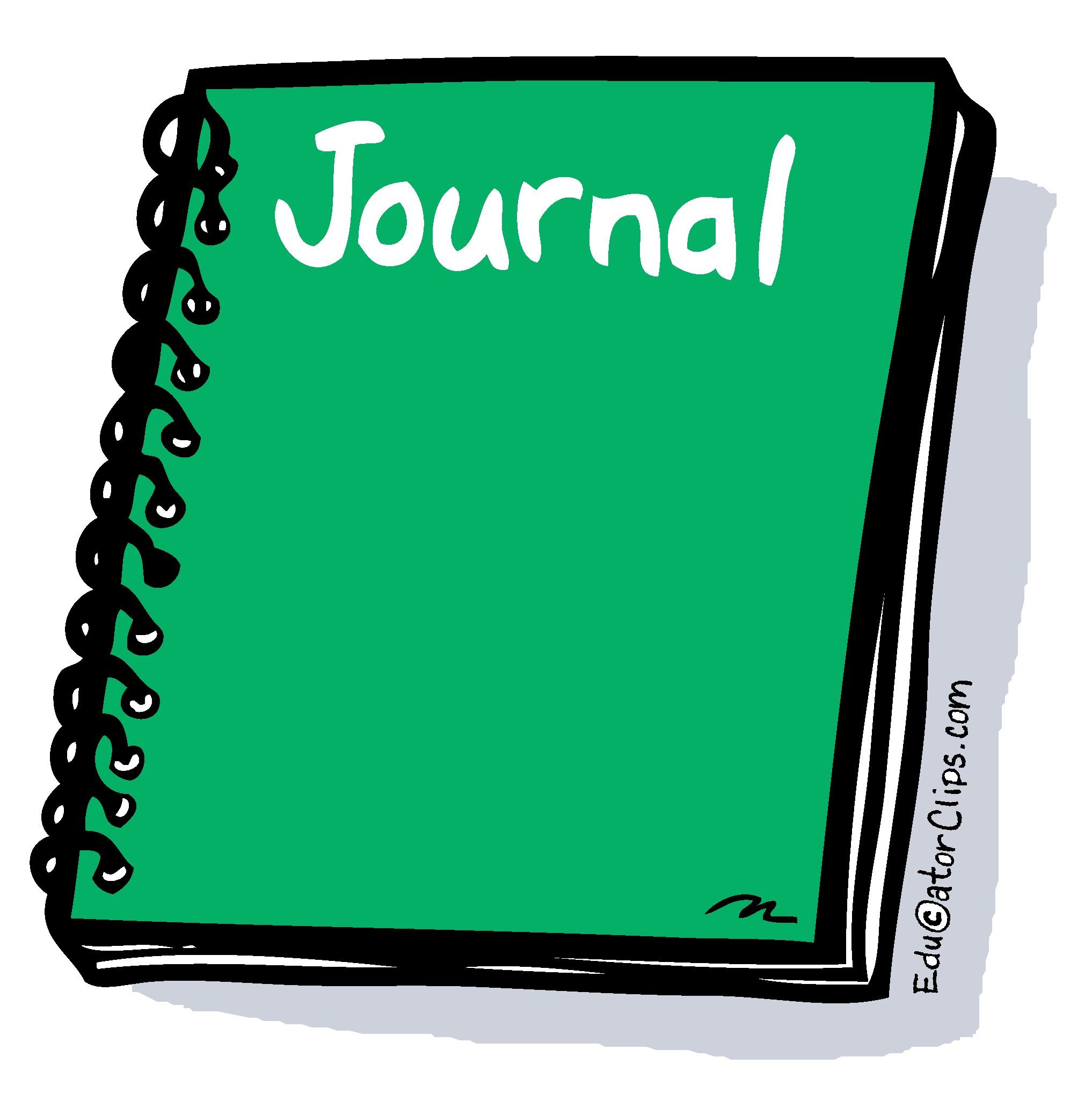 School Journal Clip Art