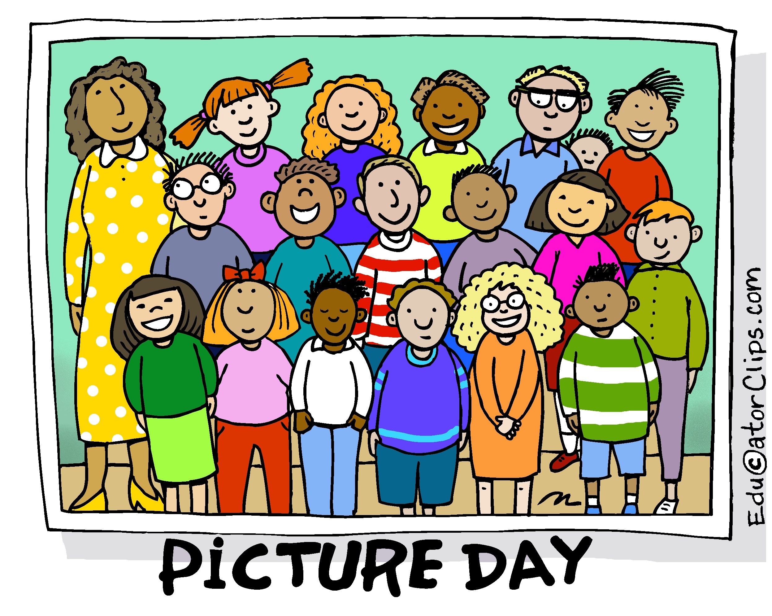 Image result for picture day clipart